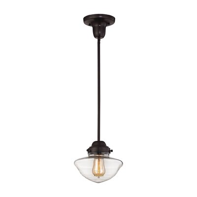 Esmond 1-Light Mini Pendant Finish: Oil Rubbed Bronze