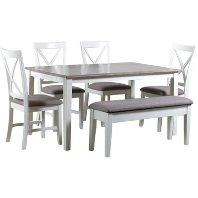 Amaury 6 Piece Dining Set