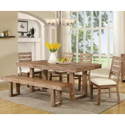 Hollingshead 6 Piece Dining Table Set