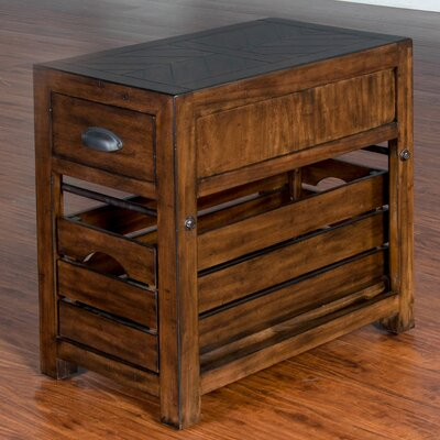 Wilfried Rectangular End Table