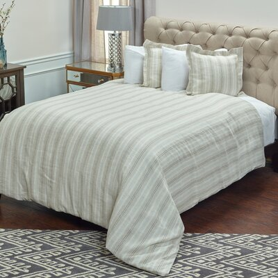 Minerva Duvet Cover Size: King