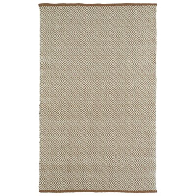 Emilia Brown Area Rug Rug Size: 3 x 5