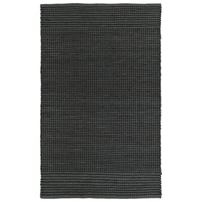 Emilia Charcoal Area Rug Rug Size: Rectangle 3 x 5