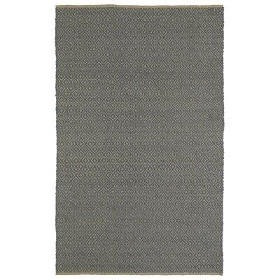Emilia Slate Area Rug Rug Size: Rectangle 3 x 5