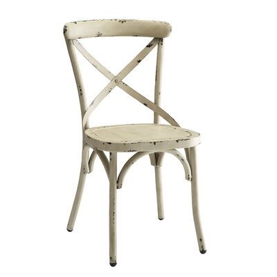 Ennis Side Chair Finish: White