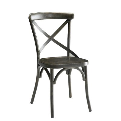 Ennis Side Chair Finish: Antique Brown