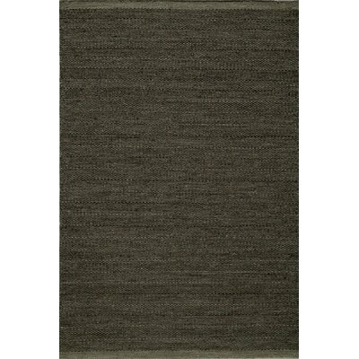 Epping Hand-Woven Smoke Area Rug Rug Size: Rectangle 36 x 56