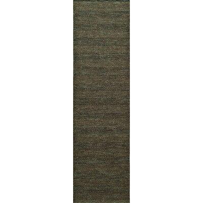 Epping Hand-Woven Smoke Area Rug Rug Size: Runner 23 x 8