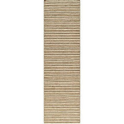 Epping Hand-Woven Natural Area Rug Rug Size: Runner 23 x 8