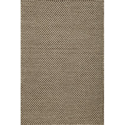 Epping Hand-Woven Brown Area Rug Rug Size: Rectangle 36 x 56