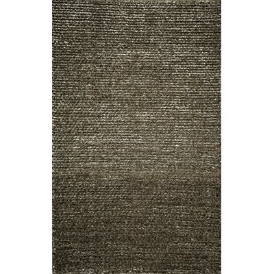 Thaddeus Hand-Woven Gray Area Rug Rug Size: 2 x 3