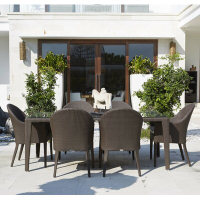 Hague 7 Piece Dining Set with Cushions