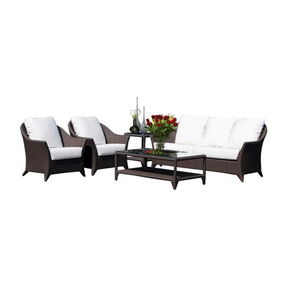 Hague 5 Piece Deep Seating Group with Cushion