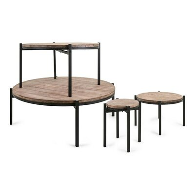 Wrisley Round Stacking Display 4 Piece Nesting Tables
