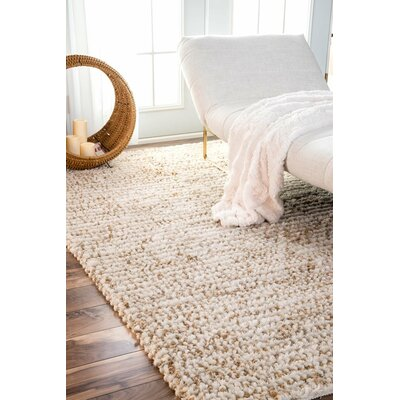 Stuart Natural Area Rug Rug Size: Rectangle 4 x 6