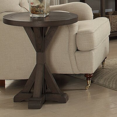 Emmie Round End Table