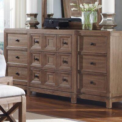 Semmes 9 Drawer Standard Dresser