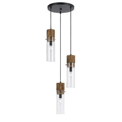 Dinel 3-Light Cascade Pendant