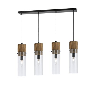 Dinel 4-Light Kitchen Island Pendant
