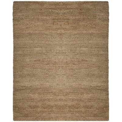 Eco-Smart Hand-Woven Natural Area Rug Rug Size: Round 6