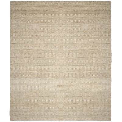 Eco-Smart Hand-Woven Bleach Area Rug Rug Size: 8 x 10