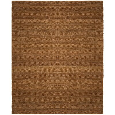 Eco-Smart Hand-Woven Gold Area Rug Rug Size: 4 x 6