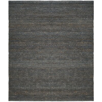 Eco-Smart Hand-Woven Gray Area Rug Rug Size: 4 x 6