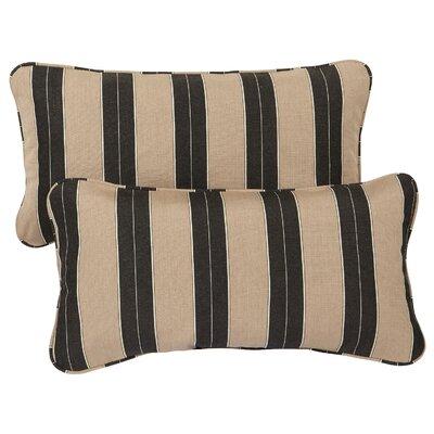 Crestwood Outdoor Sunbrella Lumbar Pillow Size: 12 H x 24 W