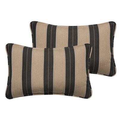 Crestwood Outdoor Sunbrella Lumbar Pillow Size: 13 H x 20 W
