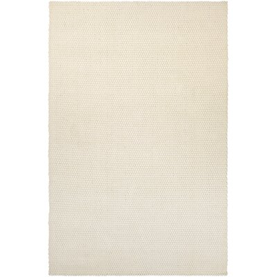 Lauren Air Hand-Loomed Off White Area Rug Rug Size: 3 x 5