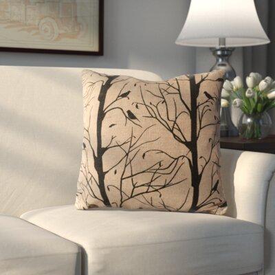 Yvonne Jute/Cotton Throw Pillow