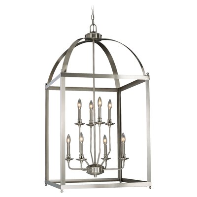 Cleona Modern 8-Light Foyer Pendant