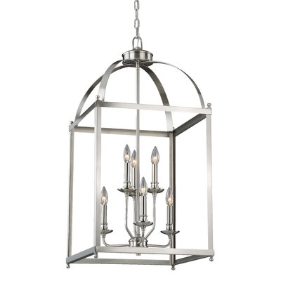 Cleona Modern 6-Light Foyer Pendant