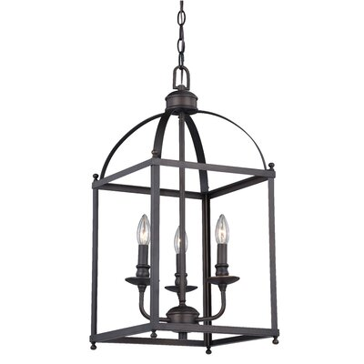 Cleona Modern 3-Light Foyer Pendant
