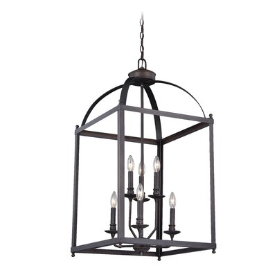 Lavande 6-Light Foyer Pendant