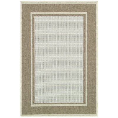 Laverne Blue Indoor/Outdoor Area Rug Rug Size: 39 x 55