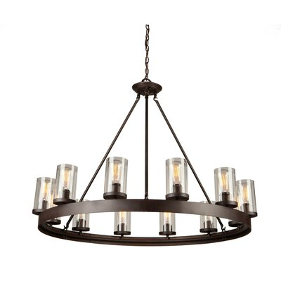 Florine 12-Light Candle-Style Chandelier