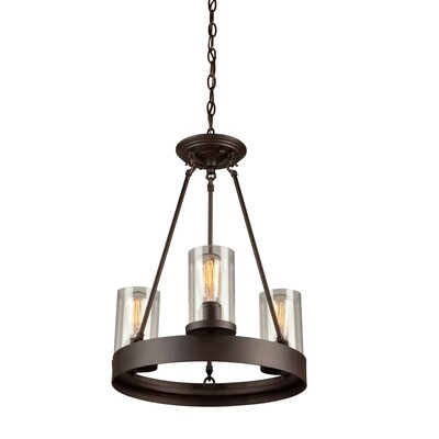 Florine 3-Light Candle-Style Chandelier