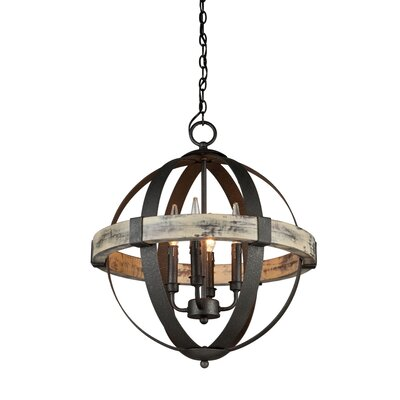 Pearl 4-Light Candle-Style Chandelier