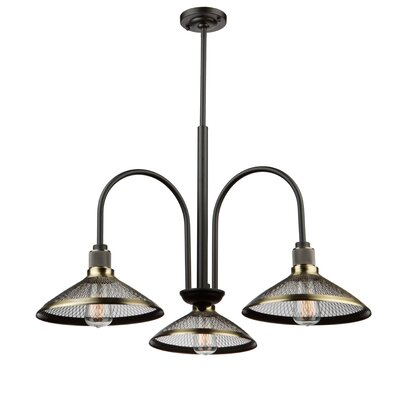 Vernet 3-Light Shaded Chandelier