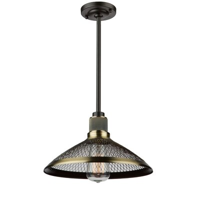 Vernet 1-Light Bowl Pendant