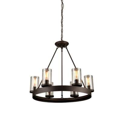 Florine 6-Light Candle-Style Chandelier