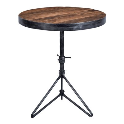 Fromberg Adjustable Round End Table