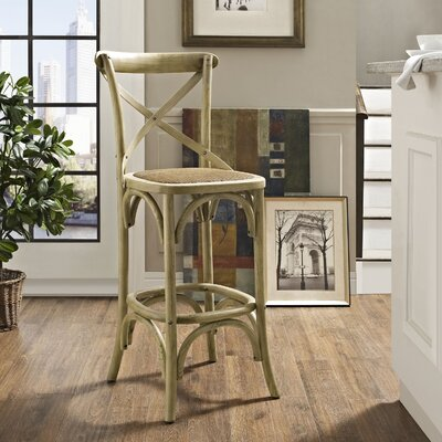 Gage 29 Bar Stool Finish: Natural