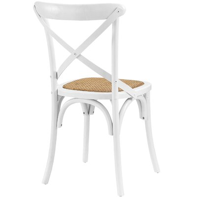 Gage Side Chair Finish: White