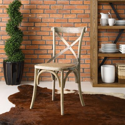 Gage Side Chair Finish: Gray