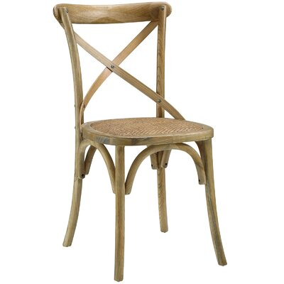 Gage Side Chair Finish: Natural