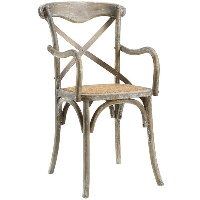 Gage Arm Chair Finish: Grey