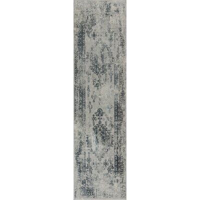 Eve Antiquities Gray Area Rug Rug Size: Runner 22 x 711