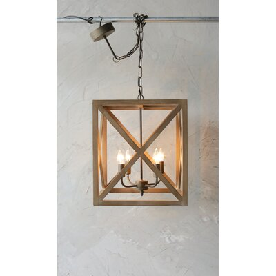 William 4-Light Chandelier